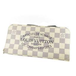 LOUIS VUITTON【ルイ・ヴィトン】 N63211 長財布(小銭入れあり) ダミエキャンバス レディース