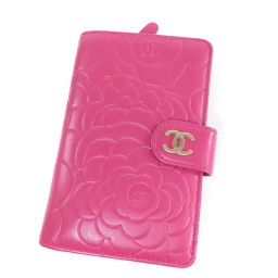 CHANEL【シャネル】 9309 二つ折り財布(小銭入れあり) ラムスキン レディース