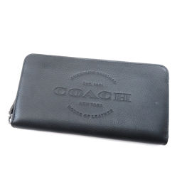 COACH【コーチ】 長財布(小銭入れあり) レザー レディース