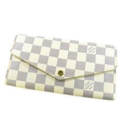 LOUIS VUITTON【ルイ・ヴィトン】 N63208 長財布(小銭入れあり) ダミエキャンバス レディース