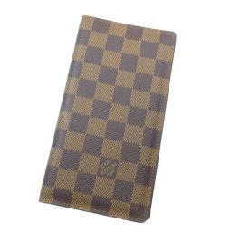 LOUIS VUITTON【ルイ・ヴィトン】 N61823 長財布(小銭入れあり) ダミエキャンバス メンズ