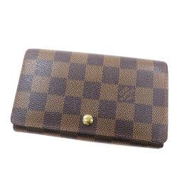 LOUIS VUITTON【ルイ・ヴィトン】 N61736 二つ折り財布(小銭入れあり) ダミエキャンバス レディース