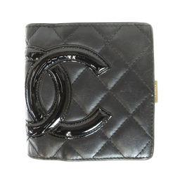 CHANEL【シャネル】 7990 二つ折り財布(小銭入れあり) レザー レディース