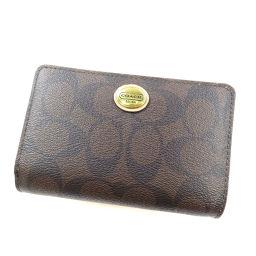 COACH【コーチ】 8031 二つ折り財布(小銭入れあり) PVC レディース