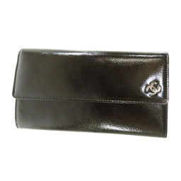 CHANEL【シャネル】 8150 長財布(小銭入れあり) パテントレザー レディース