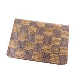 LOUIS VUITTON【ルイ・ヴィトン】 N60533 カードケース ダミエキャンバス レディース