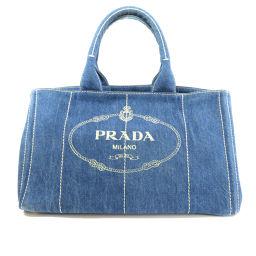 PRADA【プラダ】 8090 トートバッグ デニム レディース