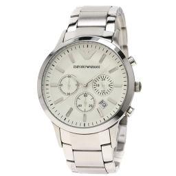 Emporio Armani【エンポリオ・アルマーニ】 腕時計 ステンレススチール/SS/SS メンズ