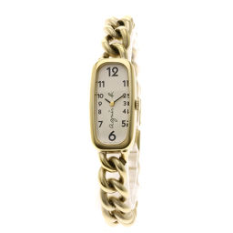 agnes b.【アニエスベー】 腕時計 金属製/金属製/金属製 レディース