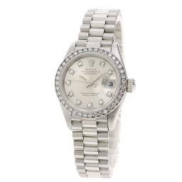 ROLEX【ロレックス】 69136G 腕時計 プラチナ/プラチナ/プラチナ レディース