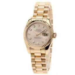 ROLEX【ロレックス】 179175G 腕時計 K18ピンクゴールド/K18ピンクゴールド/K18PG レディース