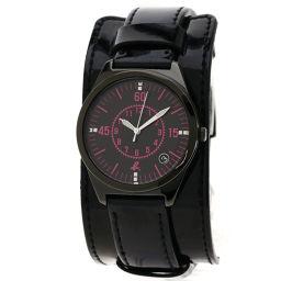agnes b.【アニエスベー】 腕時計 ステンレススチール/エナメル/エナメル レディース