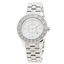 Christian Dior【クリスチャンディオール】 CD112113 腕時計 ステンレススチール/ダイヤモンドxSS レディース
