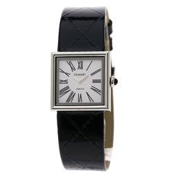 CHANEL【シャネル】 H1665 7860 腕時計 ステンレススチール/革/革 レディース