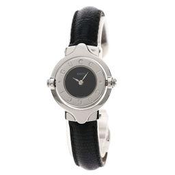 GUCCI【グッチ】 6600L 腕時計 ステンレススチール/革/革 レディース