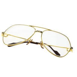 CARTIER【カルティエ】 眼鏡 金属製 ユニセックス