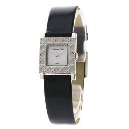 Christian Dior【クリスチャンディオール】 腕時計 ステンレススチール/革/革 レディース