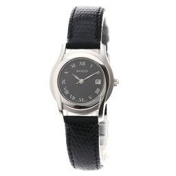GUCCI【グッチ】 腕時計 ステンレススチール/革/革 レディース