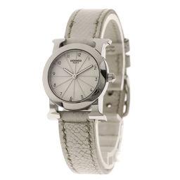 HERMES【エルメス】 HR1.210 腕時計 ステンレススチール/革/革 レディース