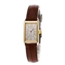 HAMILTON【ハミルトン】 6266 腕時計 ステンレススチール/革/革 レディース