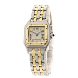 CARTIER【カルティエ】 腕時計 ステンレススチール/SSxK18YG レディース