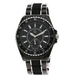 【】 腕時計 ステンレススチール/セラミックxラバー メンズ