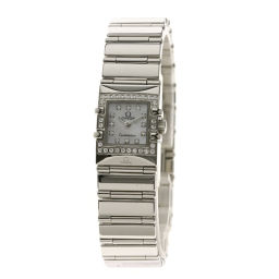 OMEGA【オメガ】 腕時計 ステンレススチール/SS/SSダイヤモンド レディース