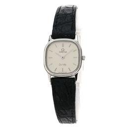 OMEGA【オメガ】 1450 7728 腕時計 ステンレススチール/革/革 レディース