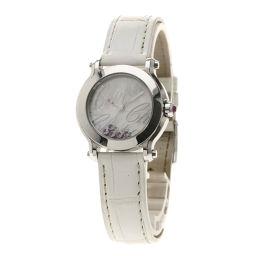Chopard【ショパール】 8509 腕時計 ステンレススチール/革/革 レディース