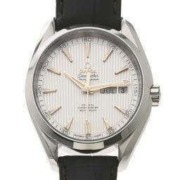 OMEGA【オメガ】 231.13.43.22.02.003 腕時計 ステンレススチール/革/革 メンズ