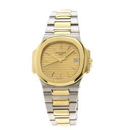 PATEK PHILIPPE【パテックフィリップ】 3800/1JA-001 7763 腕時計 ステンレススチール/SSxK18YGK18YG メンズ