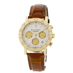 BVLGARI【ブルガリ】 BB38GLDCH 7820 腕時計 K18イエローゴールド/革/革 メンズ