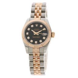 ROLEX【ロレックス】 179171G 腕時計 ステンレススチール/SSxK18PG レディース