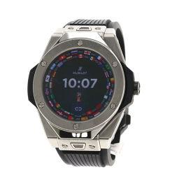 HUBLOT【ウブロ】 400.NX.1100.RX 腕時計 チタン/ラバー/ラバー メンズ