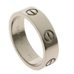 CARTIER【カルティエ】 リング・指輪 K18ホワイトゴールド メンズ