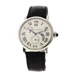 CARTIER【カルティエ】 W1556368 腕時計 ステンレススチール/革/革 メンズ