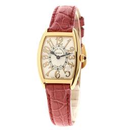 FRANCK MULLER【フランクミュラー】 1752QZREL 腕時計 K18ピンクゴールド/革/革 レディース