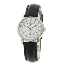 BVLGARI【ブルガリ】 ST29SLD 7702 腕時計 ステンレススチール/革/革 レディース