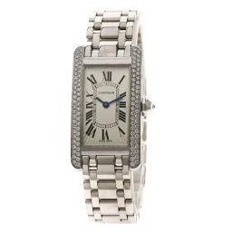 CARTIER【カルティエ】 腕時計 K18ホワイトゴールド/K18ホワイトゴールド/K18WGダイヤモンド レディース