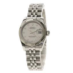 ROLEX【ロレックス】 179174NG 腕時計 ステンレススチール/SS/SSK18WG レディース