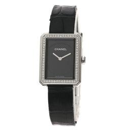 CHANEL【シャネル】 H4883 7837 腕時計 ステンレススチール/革/革ダイヤモンド レディース
