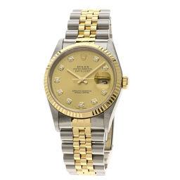 ROLEX【ロレックス】 16233G 腕時計 ステンレススチール/SSxK18YG メンズ
