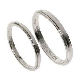 CARTIER【カルティエ】 リング・指輪 プラチナPT950 ユニセックス
