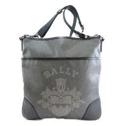 BALLY【バリー】 ショルダーバッグ コーティングキャンバス レディース