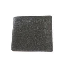 ETRO【エトロ】 二つ折り財布(小銭入れあり) PVC メンズ