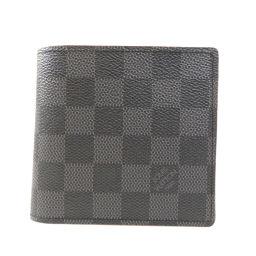 LOUIS VUITTON【ルイ・ヴィトン】 N62664 二つ折り財布(小銭入れあり) ダミエキャンバス メンズ