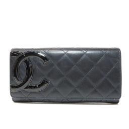 CHANEL【シャネル】 7990 長財布(小銭入れあり) ラムスキン レディース