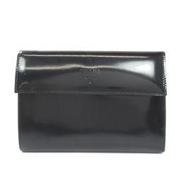 PRADA【プラダ】 二つ折り財布(小銭入れあり) パテントレザー レディース