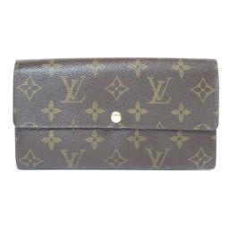 LOUIS VUITTON【ルイ・ヴィトン】 M61734 長財布(小銭入れあり) モノグラムキャンバス ユニセックス