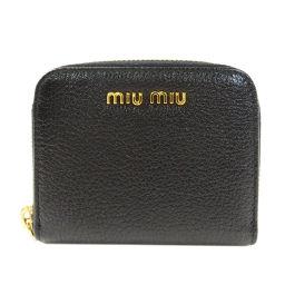 MIUMIU【ミュウミュウ】 5M0268 コインケース レザー レディース